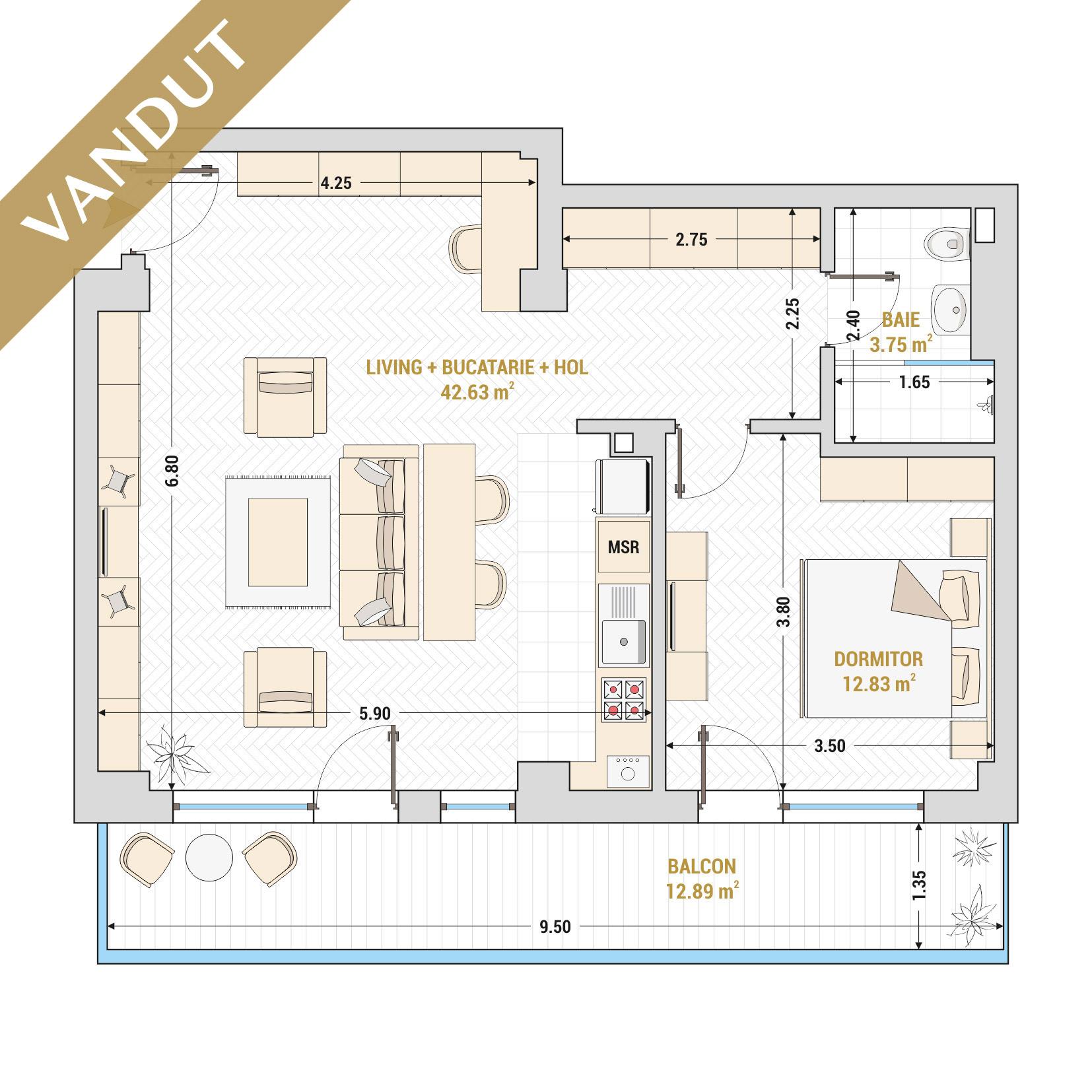 Apartamente-Gheorghieni-Marriott-Unirii-13-Septembrie-Izvor-Catedrala-Mantuirii-Neamului-Tip-7-T1 - V