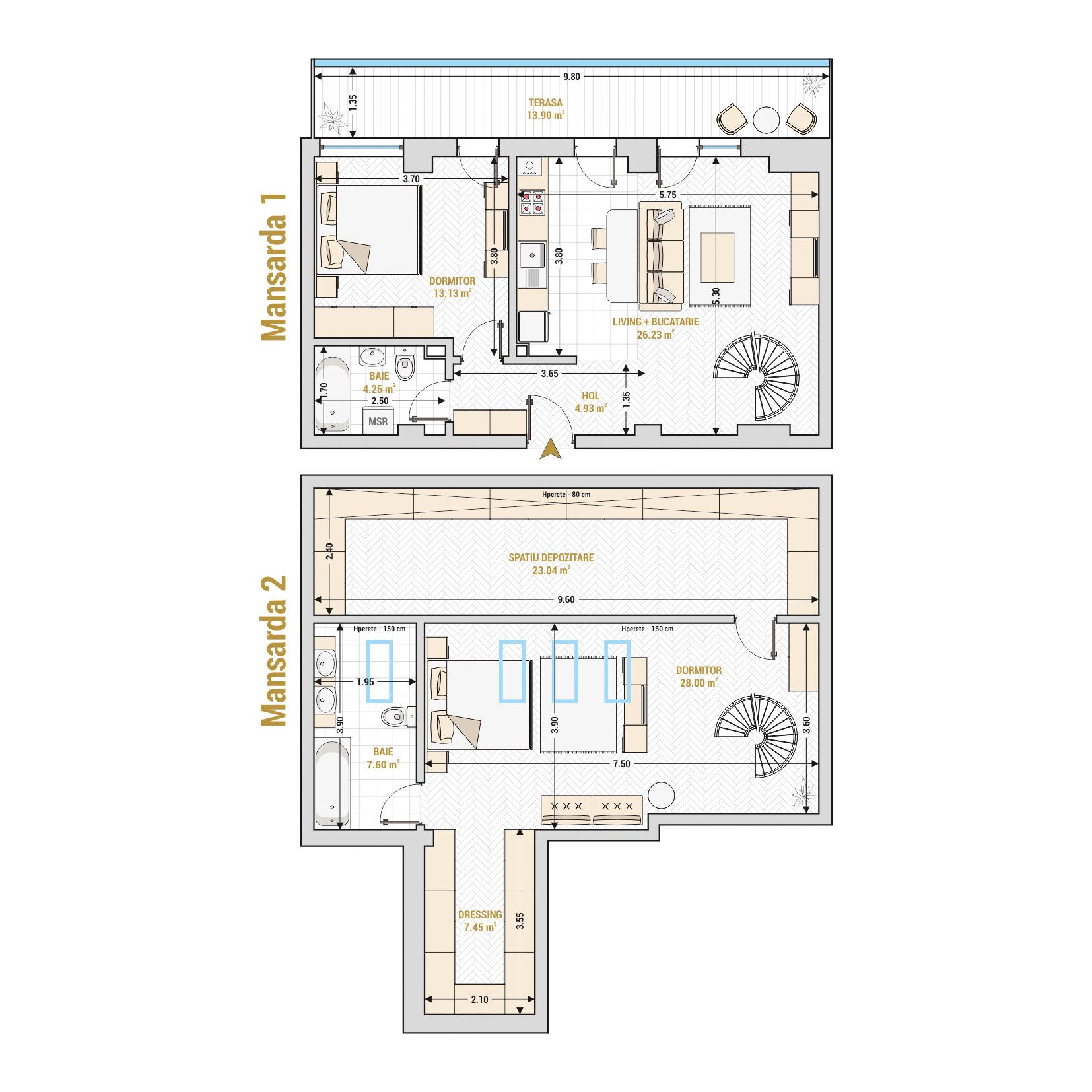Duplex-3-Camere-Gheorghieni-Marriott-Unirii-13-Septembrie-Izvor-Catedrala-Mantuirii-Neamului-T2A