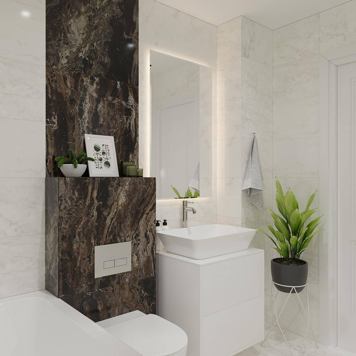 Catedral Residence - Bathroom - Marazzi Ceramic tiles - 2