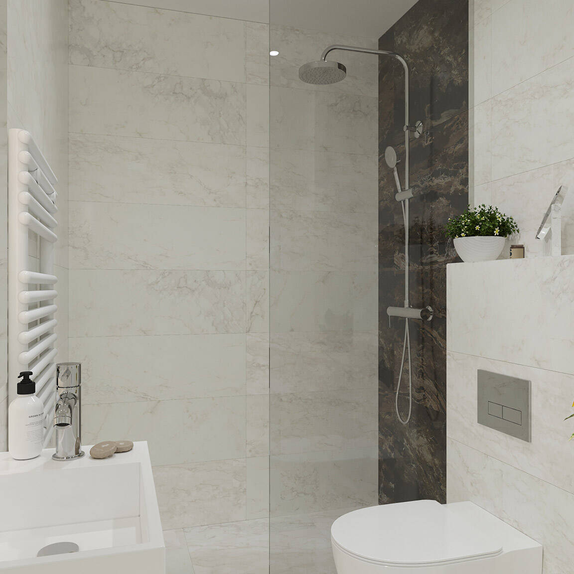 Catedral Residence - Bathroom - Marazzi Ceramic tiles - 3