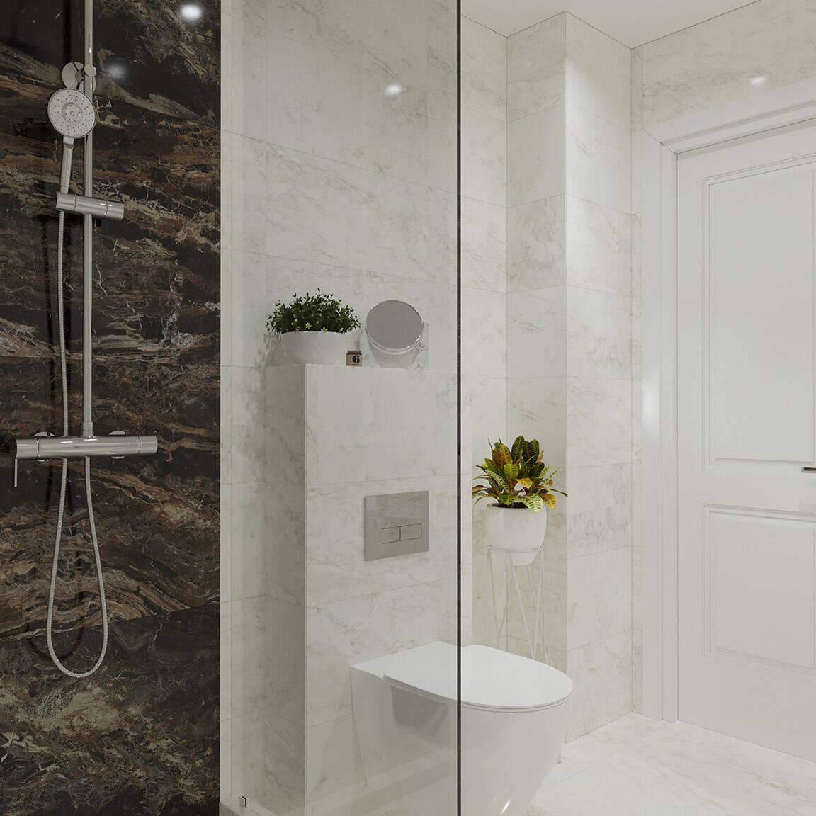 Catedral Residence - Bathroom - Marazzi Ceramic tiles - 4