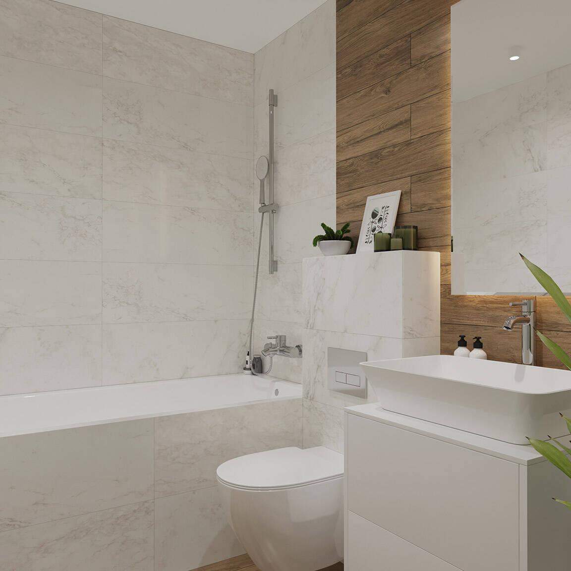 Catedral Residence - Bathroom - Marazzi Ceramic tiles - 5