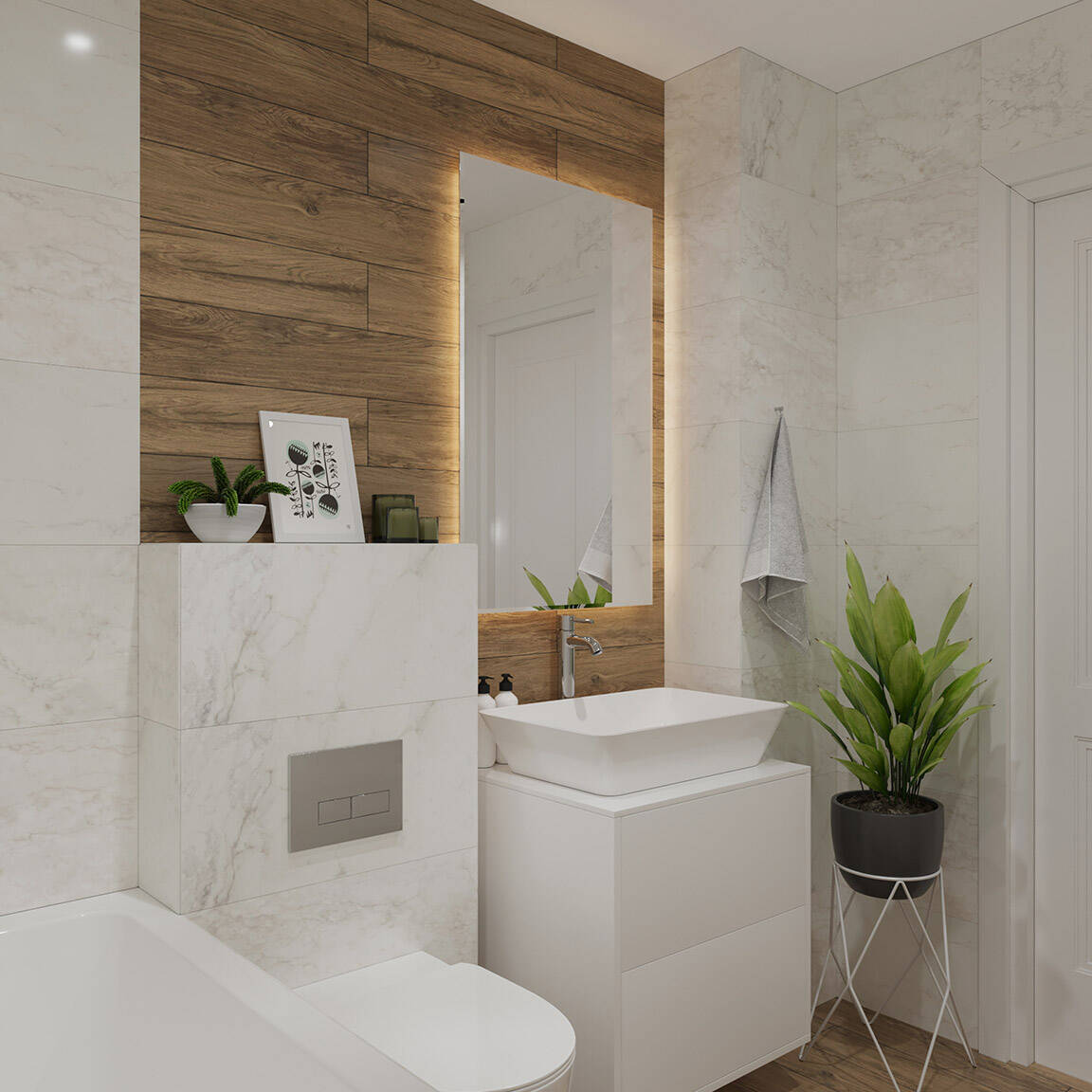 Catedral Residence - Bathroom - Marazzi Ceramic tiles - 6