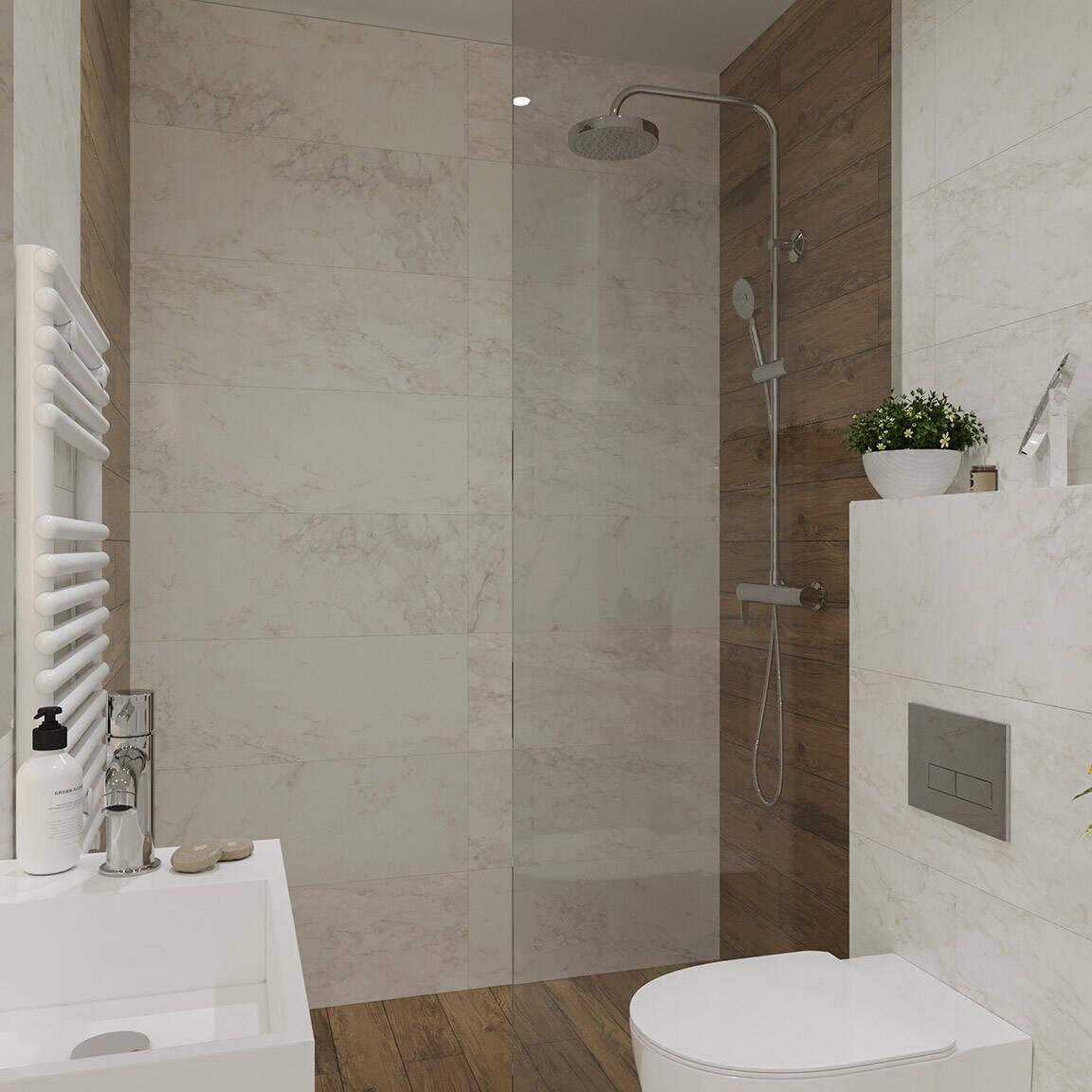 Catedral Residence - Bathroom - Marazzi Ceramic tiles - 7
