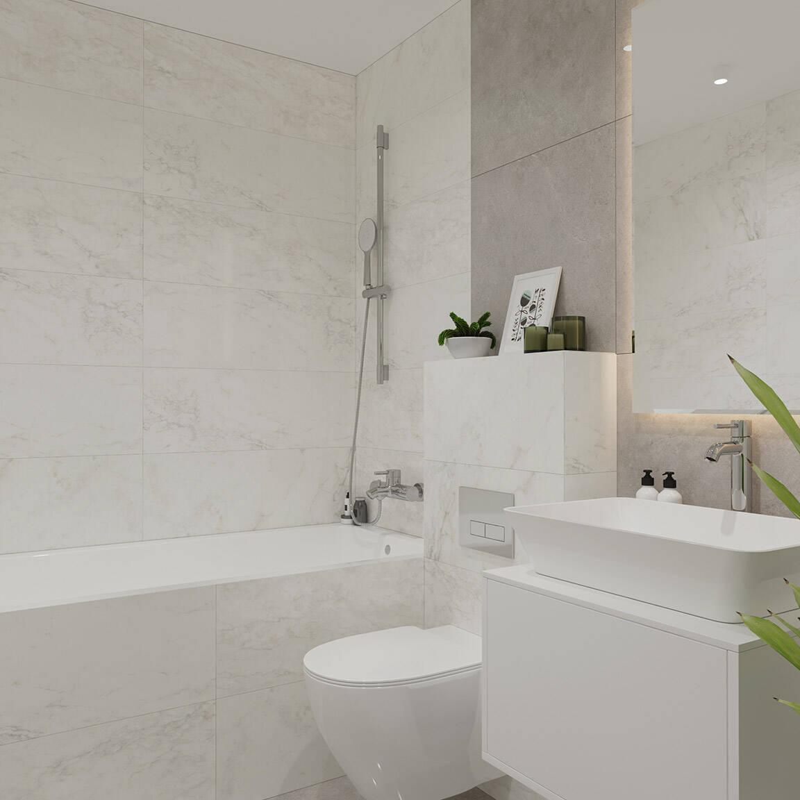 Catedral Residence - Bathroom - Marazzi Ceramic tiles - 9