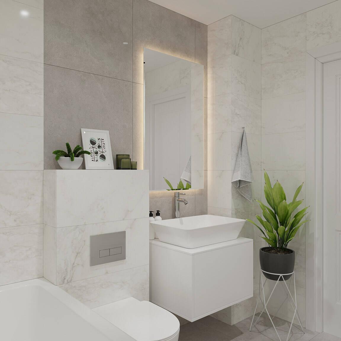 Catedral Residence - Bathroom - Marazzi Ceramic tiles - 10