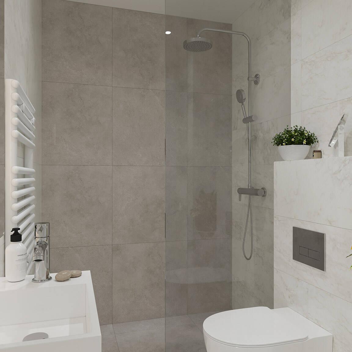 Catedral Residence - Bathroom - Marazzi Ceramic tiles - 11