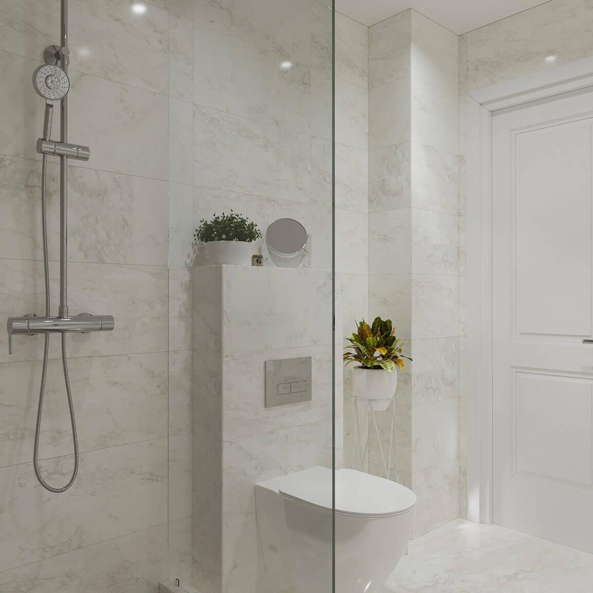 Catedral Residence - Bathroom - Marazzi Ceramic tiles - 12