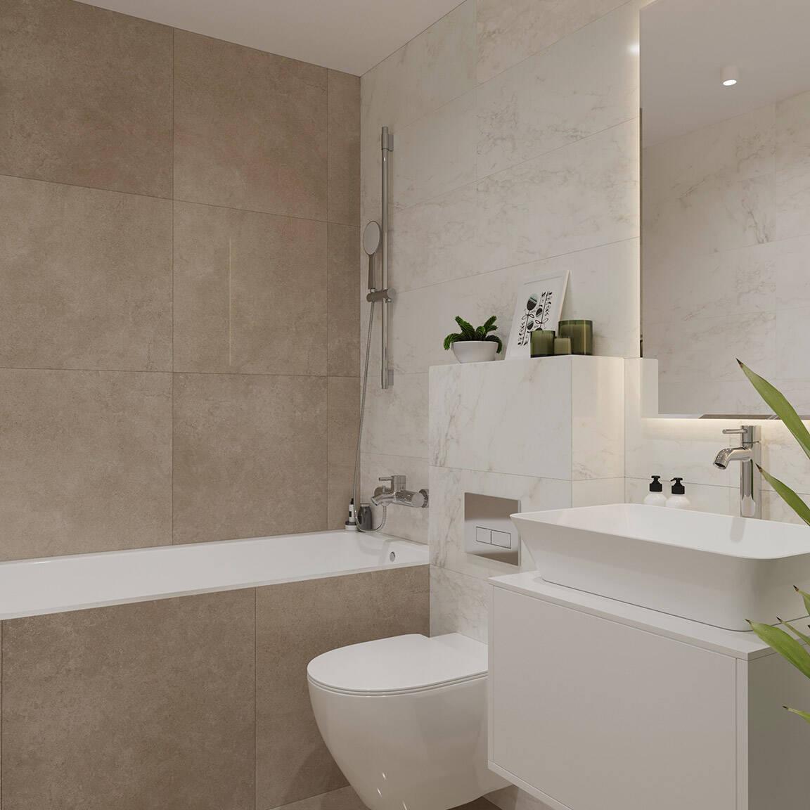 Catedral Residence - Bathroom - Marazzi Ceramic tiles - 13