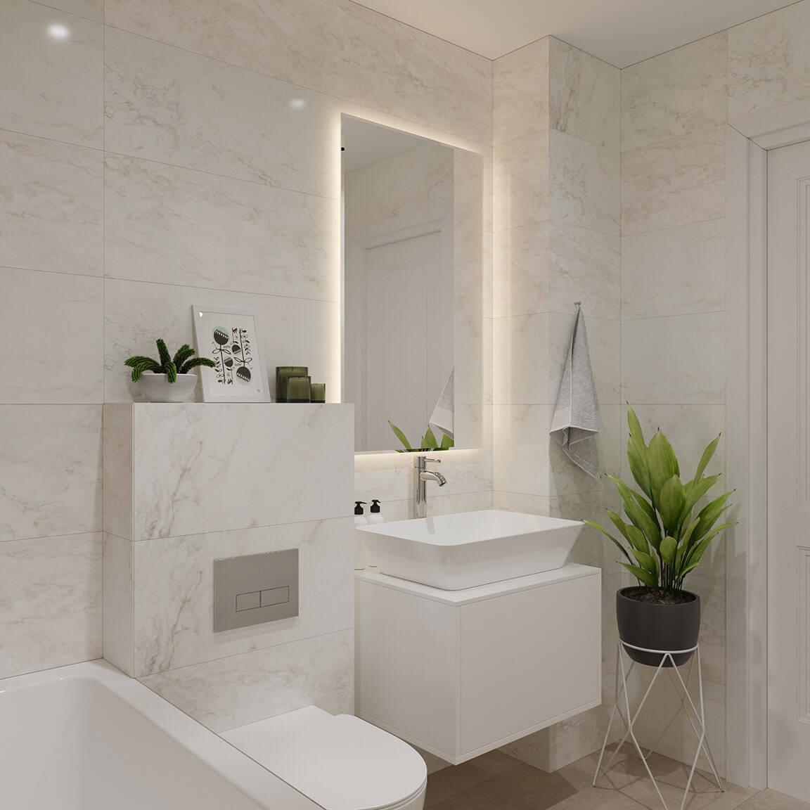 Catedral Residence - Bathroom - Marazzi Ceramic tiles - 14