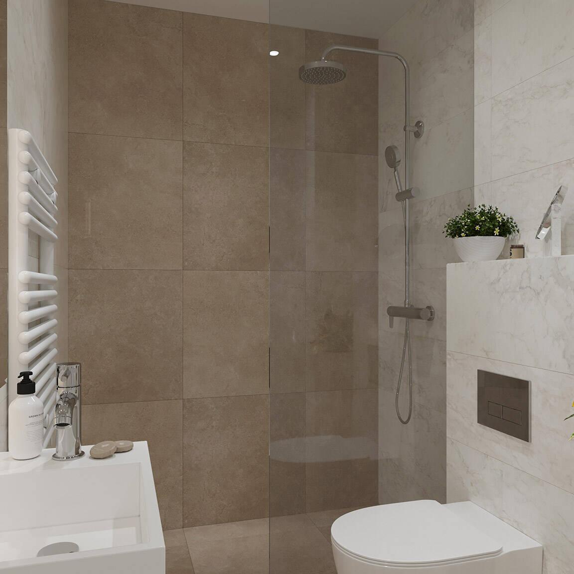 Catedral Residence - Bathroom - Marazzi Ceramic tiles - 15
