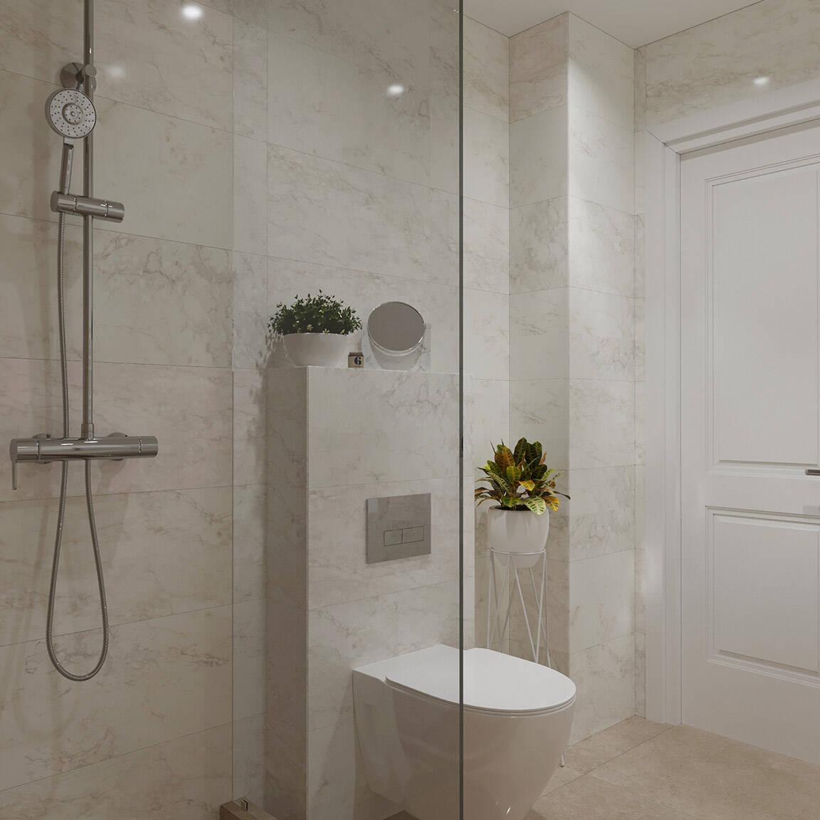Catedral Residence - Bathroom - Marazzi Ceramic tiles - 16